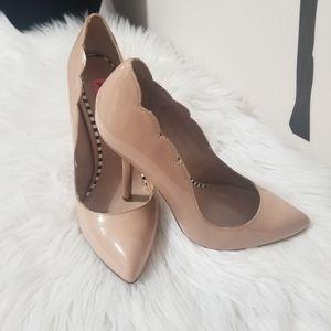 Betsey Johnson - nude sexy heels
